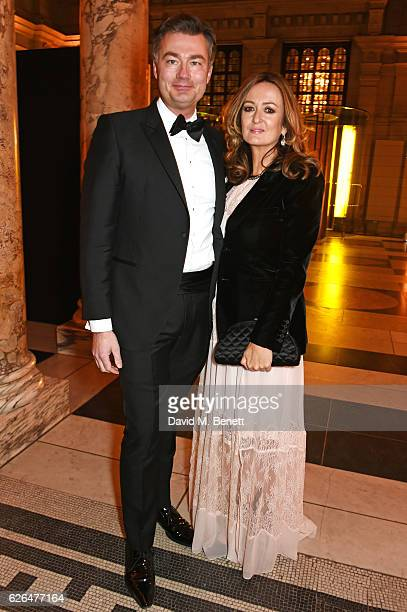 Laurent Feniou and Lucy Yeomans attend as PORTER hosts a special performance of Letters Live in celebration of their Incredible Women of 2016 at The...