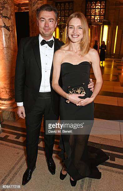 Laurent Feniou and Natalia Vodianova attend as PORTER hosts a special performance of Letters Live in celebration of their Incredible Women of 2016 at...