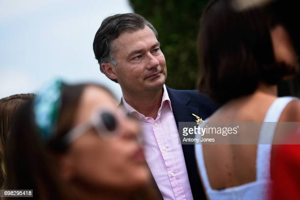 Laurent Feniou attends the Cartier Queen's Cup Polo at Guards Polo Club on June 18 2017 in Egham England 2