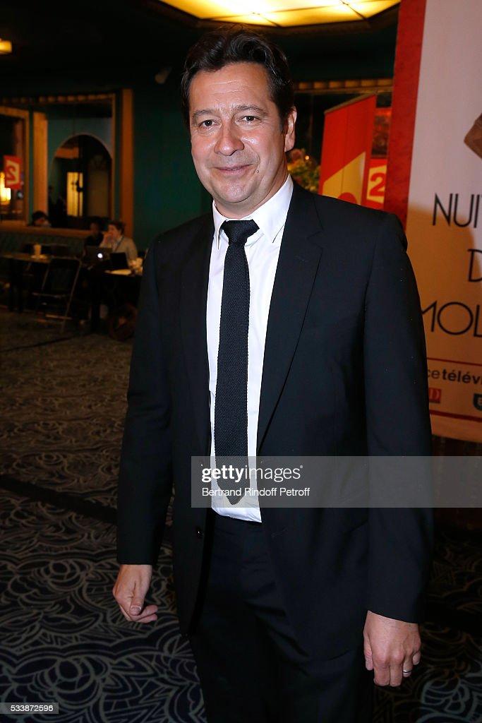 Laurent Gerra attends 'La 28eme Nuit des Molieres' on May 23, 2016 in Paris, France.