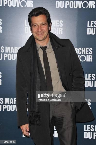 Laurent Gerra attends 'The Ides of March'Paris Premiere at Cinema UGC Normandie on October 18 2011 in Paris France