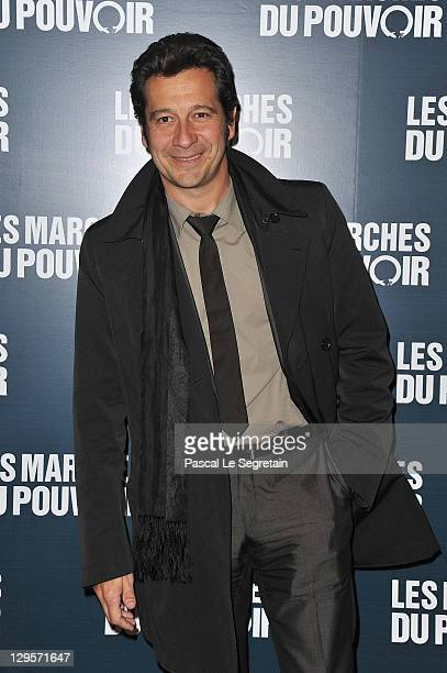 Laurent Gerra attends 'The Ides of March'Paris Premiere at Cinema UGC Normandie on October 18 2011 in Paris France