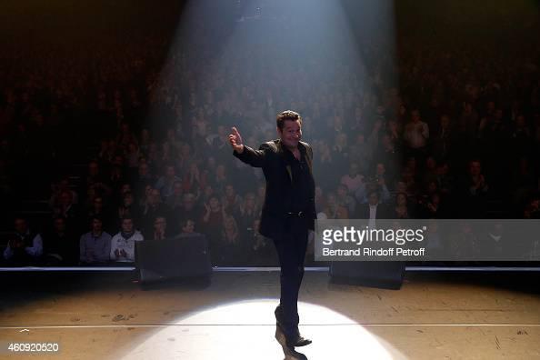 Laurent Gerra attends the Laurent Gerra Show at Palais des Sports on December 2326 and 27 2014 in Paris France