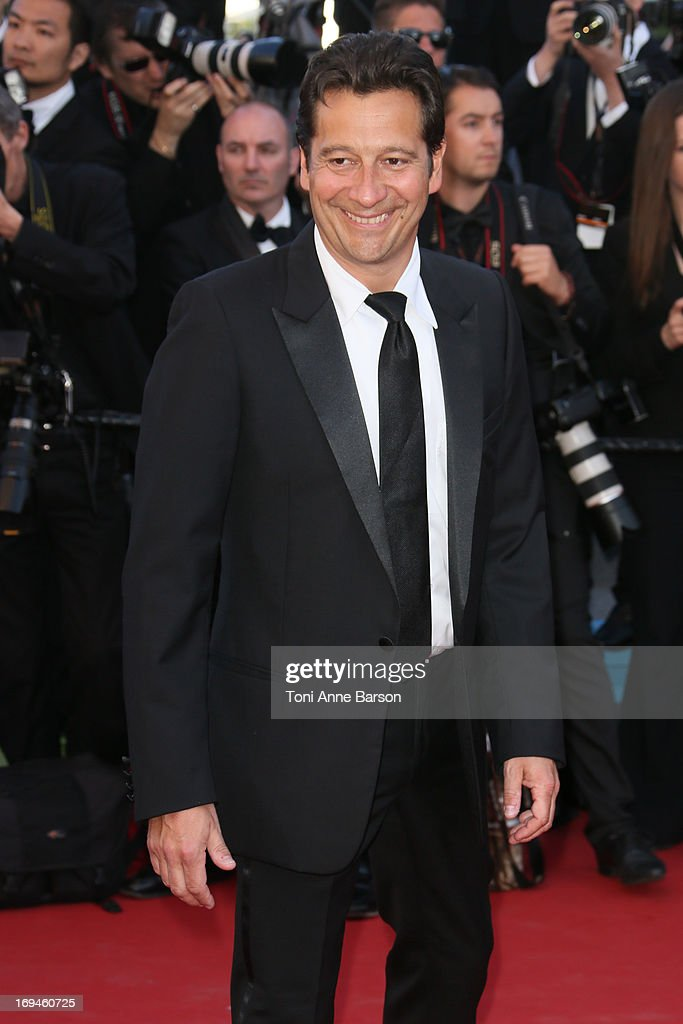 Laurent Gerra attends the premiere of 'The Immigrant' at The 66th Annual Cannes Film Festival on May 24, 2013 in Cannes, France.