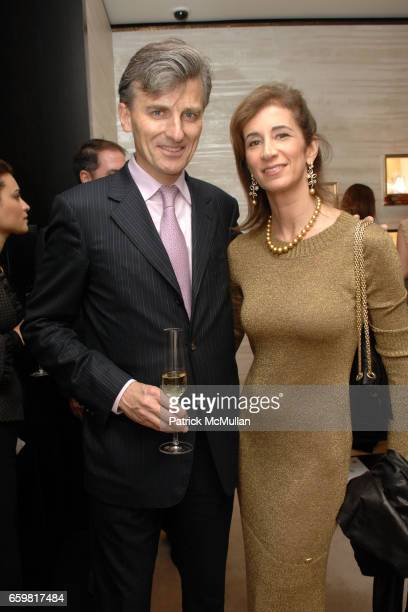 Laurent Grosgogeat and Erica Kasel attend Chanel Fine Jewelry Beverly Hills Dinner at Chanel Boutique on November 11 2009