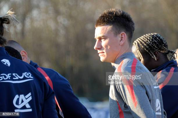 Laurent KOSCIELNY Entrainement Equipe de France Clairefontaine