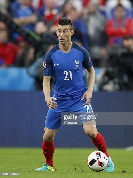 Laurent Koscielny of France during the UEFA EURO 2016 quarter final match between France and Iceland on July 3 2016 at the Stade de France in Paris...
