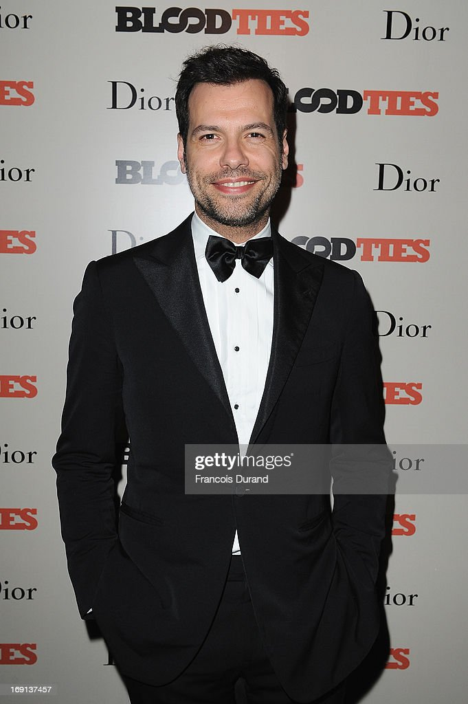 Laurent Laffite attends the 'Blood Ties' cocktail and party hosted by Dior at Club by Albane in Bulgari Rooftop on May 20, 2013 in Cannes, France.