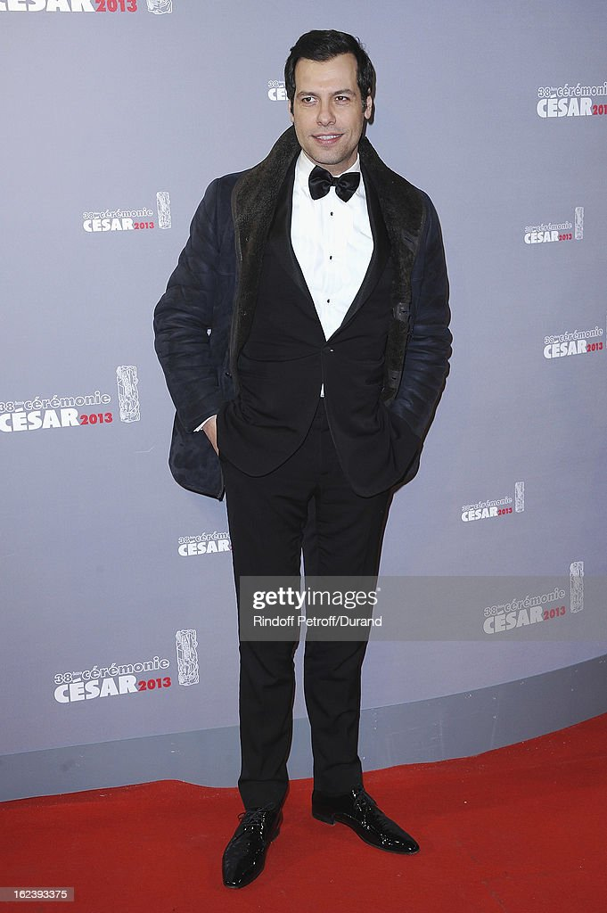 Laurent Lafitte arrives at Cesar Film Awards 2013 at Theatre du Chatelet on February 22, 2013 in Paris, France.
