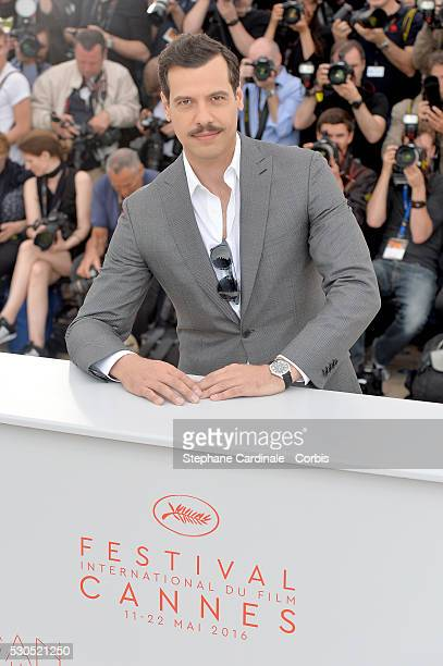 Laurent Lafitte attends a Photocall during The 69th Annual Cannes Film Festival on May 11 2016 in Cannes France
