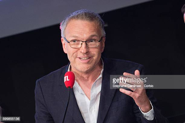 Laurent Ruquier attends the RTL Press Conference at Elysees Biarritz Cinema on September 7 2016 in Paris France