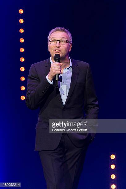 Laurent Ruquier performs during the 3rd edition of the 'Europe 1 fait Bobino' show at Bobino on February 18 2013 in Paris France