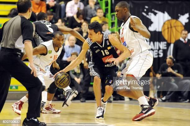 Laurent SCIARRA Orleans / Cholet Semaine des As 2010 Astroballe de Villeurbanne