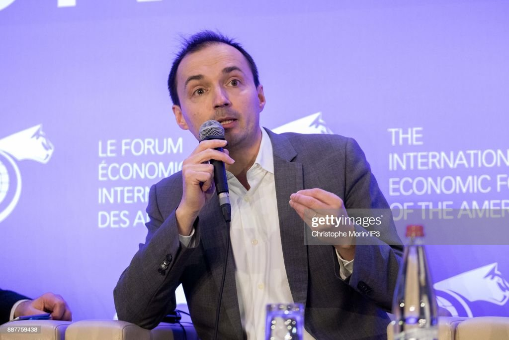 Laurent Stefani Head, AI, Accenture attends the first edition of the Conference of Paris of the International Economic Forum of the Americas, in Paris, on December 7, 2017 in Paris, France. IEFA organizes annual summits bringing together heads of states, central bank governors, ministers and global economic decision makers. This annual meeting focus on providing a better understanding of the major challenges facing the global economy, with particular attention to relations between Europe and other continents.