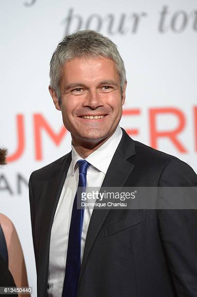 Laurent Wauquiez attends the opening ceremony of the 8th Film Festival Lumiere in Lyon on October 8 2016 in Lyon France