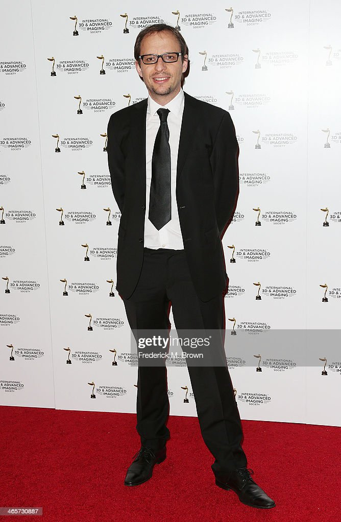 Laurent Witz attends the 2014 International 3D and Advanced Imaging Society's Creative Arts Awards at the Steven J. Ross Theatre, Warner Bros. Studios on January 28, 2014 in Burbank, California.