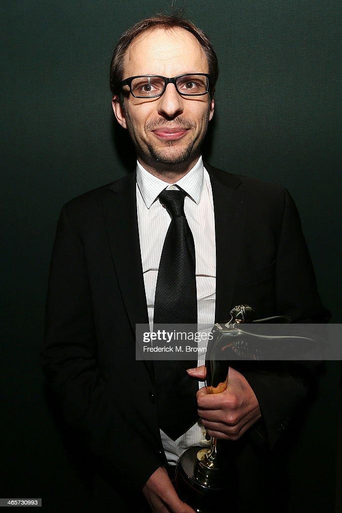 Laurent Witz is being honored during the 2014 International 3D and Advanced Imaging Society's Creative Arts Awards at the Steven J. Ross Theatre, Warner Bros. Studios on January 28, 2014 in Burbank, California.
