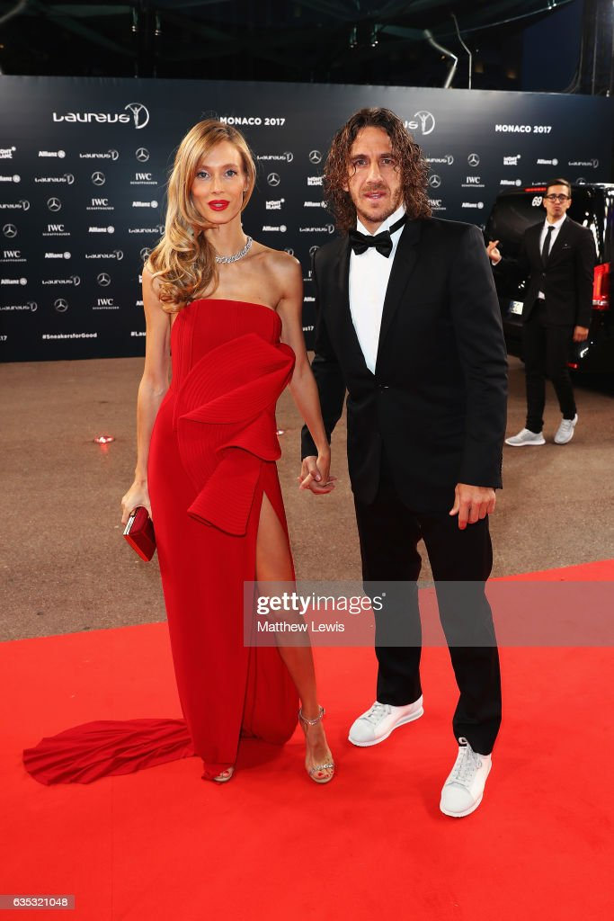 Laureus Academy member Carles Puyol attends the 2017 Laureus World Sports Awards at the Salle des Etoiles,Sporting Monte Carlo on February 14, 2017 in Monaco, Monaco.