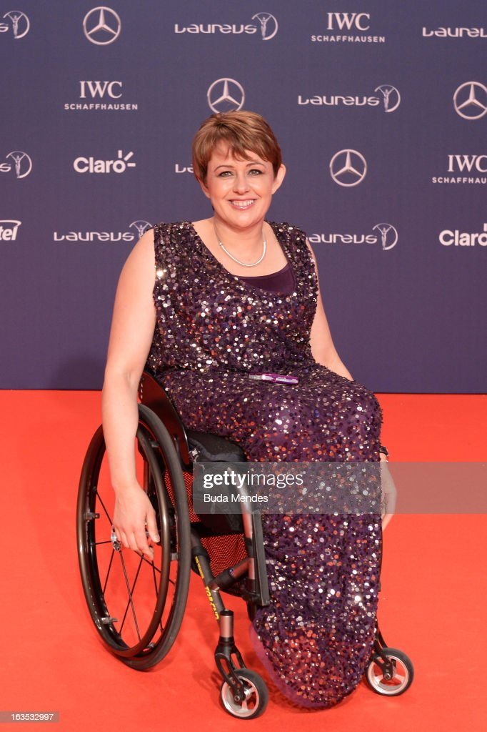 Laureus Academy Member Tanni Grey - Thompson attends the 2013 Laureus World Sports Awards at the Theatro Municipal Do Rio de Janeiro on March 11, 2013 in Rio de Janeiro, Brazil.