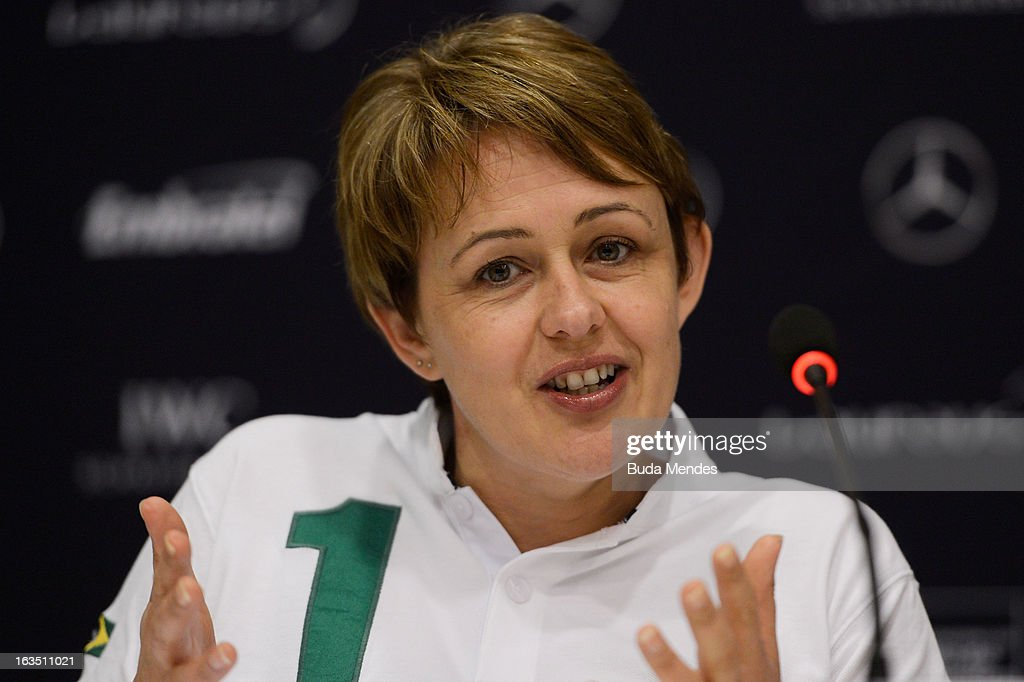 Laureus Academy Member Tanni Grey - Thompson attends the Women In Sport Press Conference at the Windsor Atlantica during the 2013 Laureus World Sports Awards on March 11, 2013 in Rio de Janeiro, Brazil.
