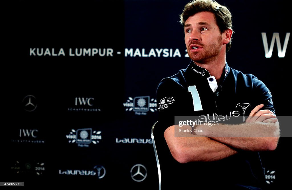 Laureus Ambassador and Football Manager Andre Villas Boas speaks during the sports debate during the Laureus World Sports Awards 2014 Nominations Announcement at the Hotel Shangri-la on February 26, 2014 in Kuala Lumpur, Malaysia.