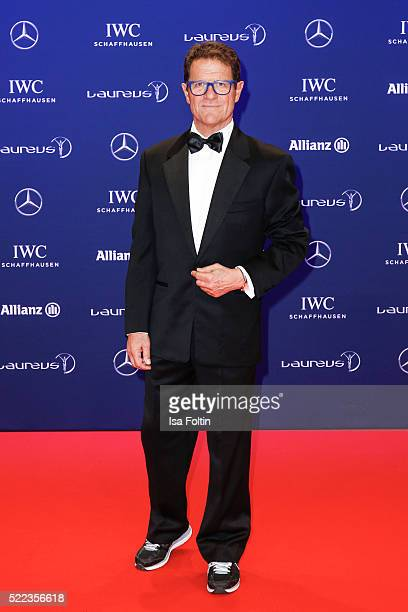Laureus Ambassador Fabio Capello attends the Laureus World Sports Awards 2016 on April 18 2016 in Berlin Germany