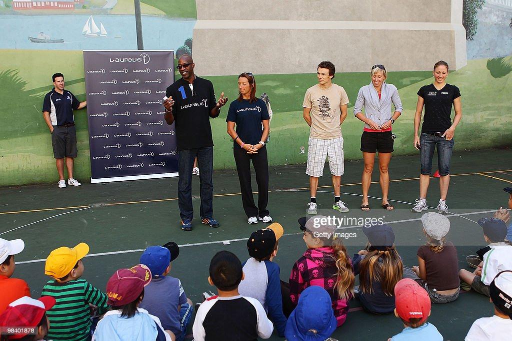 Laureus Sport for Good Project Visit - Sydney