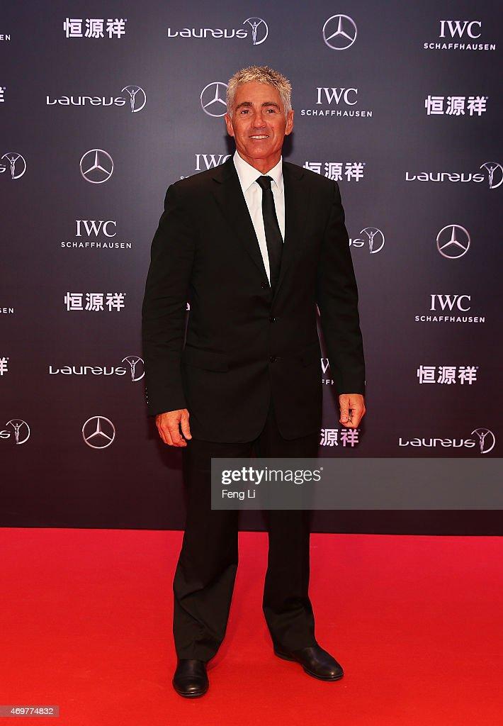 Red Carpet Arrivals - 2015 Laureus World Sports Awards - Shanghai