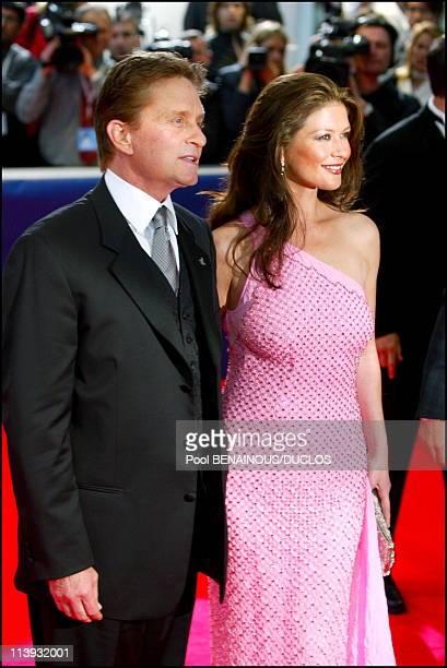 Laureus World Sports Awards ceremony In Monaco City Monaco On May 14 2002Michael Douglas and Catherine Zeta Jones