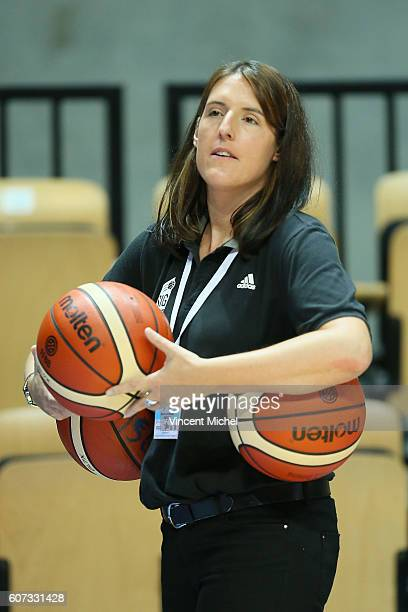 Lauriane Dolt of Strasbourg during the Final match between Strasbourg and Gravelines Dunkerque at Tournament ProStars at Salle Arena Loire on...