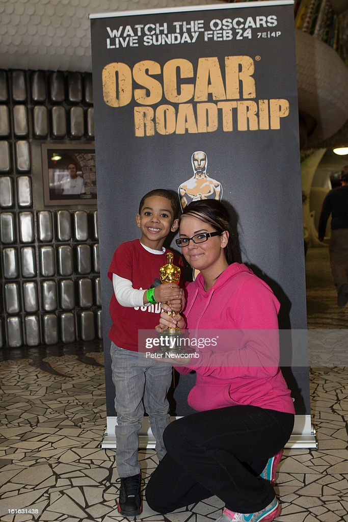 Laurie Brown attends first-ever Oscar Roadtrip at on February 13, 2013 in St Louis City.