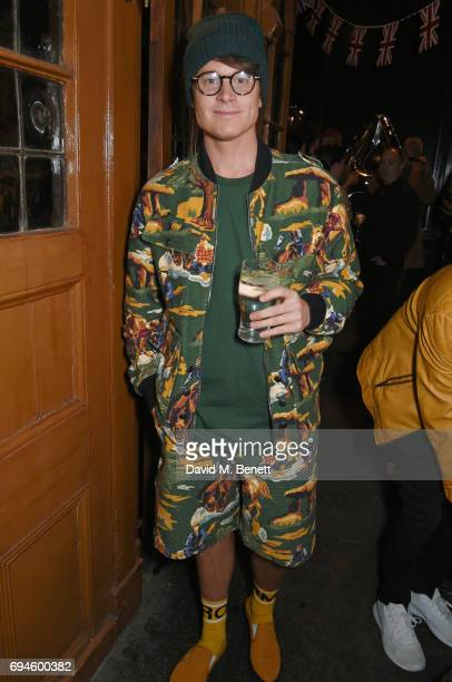 Laurie Calvert attends a celebration of the Stella McCartney AW17 collection and film launch at Ye Olde Mitre on June 10 2017 in London England