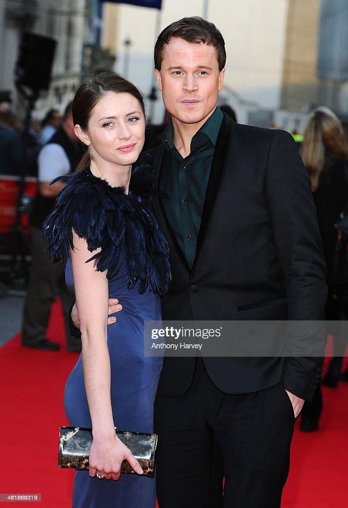 Laurie Calvert attends the World Premiere of 'The Quiet Ones' at Odeon West End on April 1, 2014 in London, England.