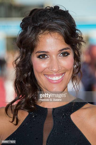 Laurie Cholewa arrives at the 'Free State of Jones' Premiere during the 42nd Deauville American Film Festival on September 3 2016 in Deauville France