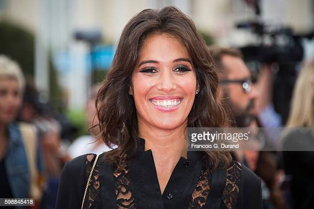 Laurie Cholewa arrives at the opening ceremony of the 42nd Deauville American Film Festival on September 2 2016 in Deauville France