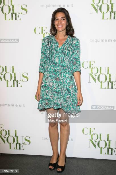 Laurie Cholewa attends 'Ce qui Nous Lie' Premiere on June 12 2017 in Paris France