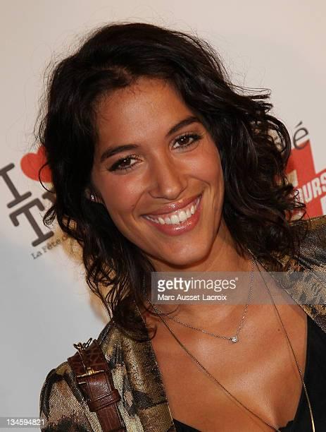 Laurie Cholewa attends the 1st edition of 'La Fete de la Tele' at Le Showcase on June 15 2010 in Paris France