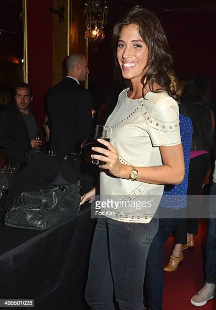 Laurie Cholewa attends the 'Mistinguett Reine des Annes Folles' At The Casino De Paris on June 3 2014 in Paris France