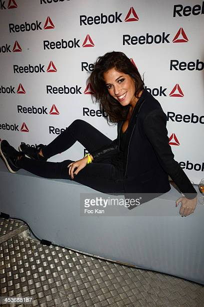 Laurie Cholewa attends The 'Reebok Concept Store' Opening Party at Avenue De L'Opera on December 4 2013 in Paris France
