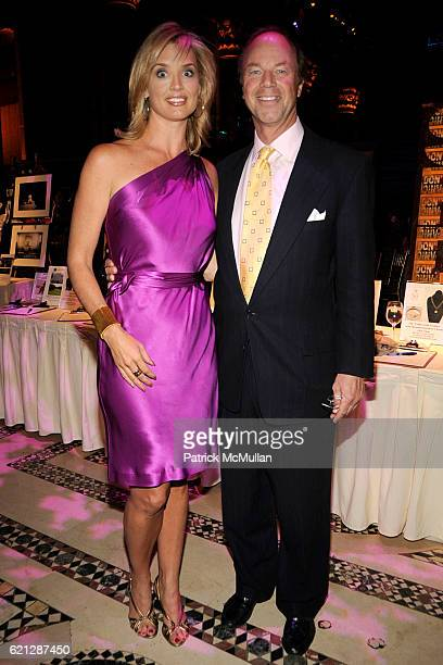 Laurie Dhue and Ben Zintak attend CARON New York Treatment Center's 2008 Annual Gala at Cipriani 42nd Street on May 29 2008 in New York City