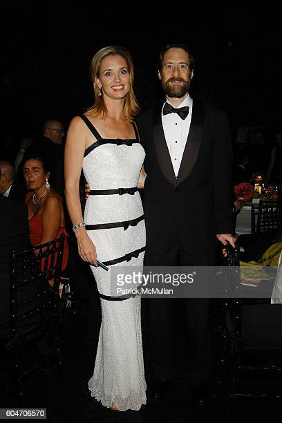 Laurie Dhue and Gary Paar attend Metropolitan Opera Opening Night Dinner at Lincoln Center on September 25 2006 in New York City