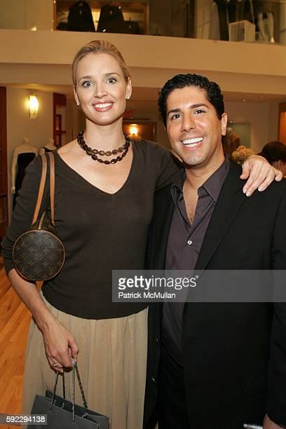 Laurie Dhue and Ramy Gafni attend New York Citys 10th Annual 'Salute to Survivors' In Honor of Breast Cancer Awareness Month at Ann Taylor on...
