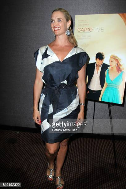 Laurie Dhue attends A Special Screening of IFC FILMS CAIRO TIME at Cinema 3 on July 26 2010 in New York City