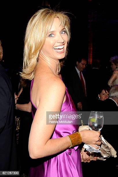 Laurie Dhue attends CARON New York Treatment Center's 2008 Annual Gala at Cipriani 42nd Street on May 29 2008 in New York City