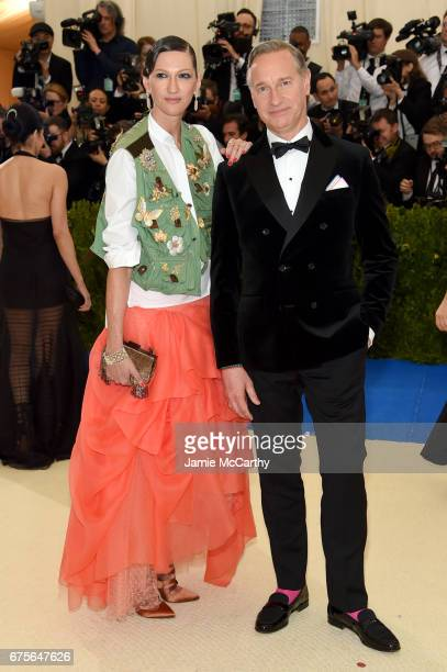 Laurie Feig and director Paul Feig attend the 'Rei Kawakubo/Comme des Garcons Art Of The InBetween' Costume Institute Gala at Metropolitan Museum of...