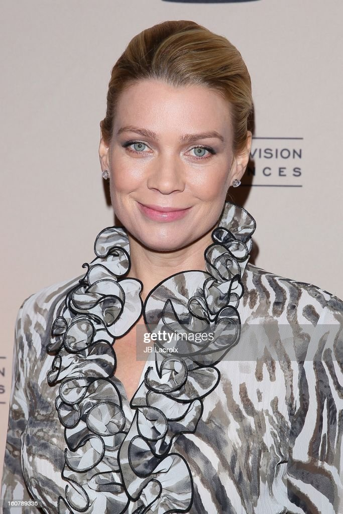 Laurie Holden attends an evening with 'The Walking Dead' presented by The Academy Of Television Arts & Sciences at Leonard H. Goldenson Theatre on February 5, 2013 in North Hollywood, California.