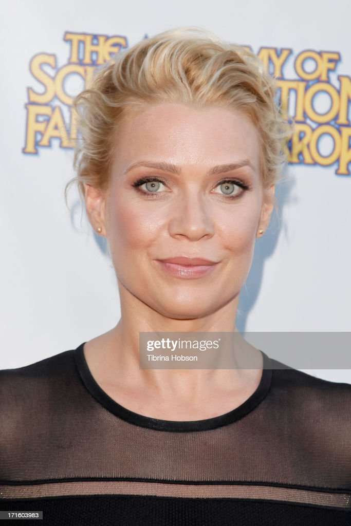 <a gi-track='captionPersonalityLinkClicked' href=/galleries/search?phrase=Laurie+Holden&family=editorial&specificpeople=678388 ng-click='$event.stopPropagation()'>Laurie Holden</a> attends the Academy of Science Fiction, Fantasy & Horror Films 2013 Saturn Awards at The Castaway on June 26, 2013 in Burbank, California.