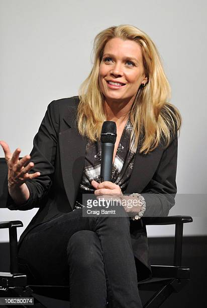 Laurie Holden attends 'The Walking Dead' Screening And Panel For SAG Nominating Committee at Pacific Design Center on October 27 2010 in West...