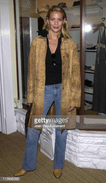 Laurie Holden during Opening of 'Belle Gray' Lisa Rinna's New Clothing Boutique at Belle Gray in Sherman Oaks California United States