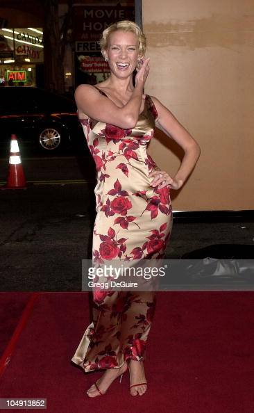 Laurie Holden during 'The Majestic' Hollywood Premiere at Grauman's Chinese Theatre in Hollywood California United States